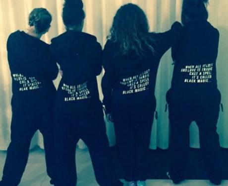 Little Mix matching onesies