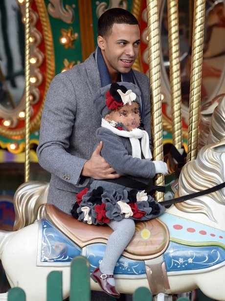 Marvin with his daughter