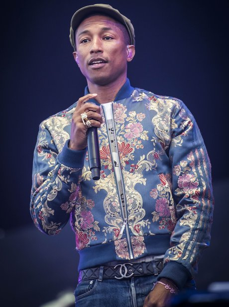 Pharrell Isle Of Wight Festival 2015