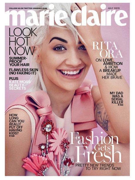 Rita Ora Marie Claire 2015