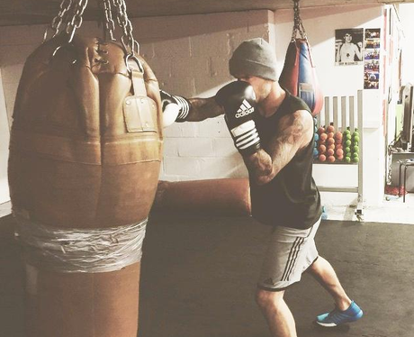 David Beckham Boxing