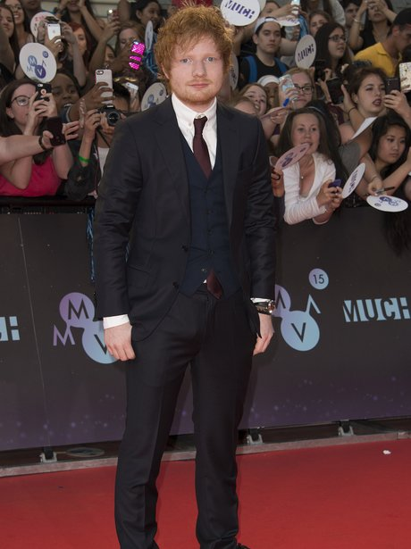 Ed Sheeran MuchMusic Awards 2015