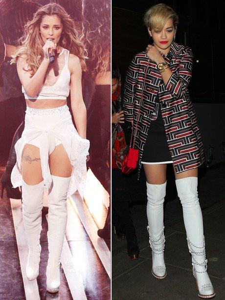Fashion Face Off: Cheryl Fernanded-Versini V. Rita