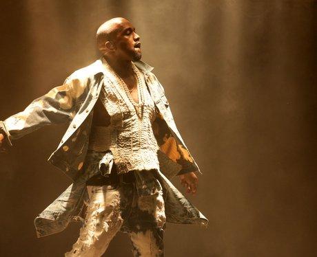 Glastonbury 2015 Saturday - Kanye West
