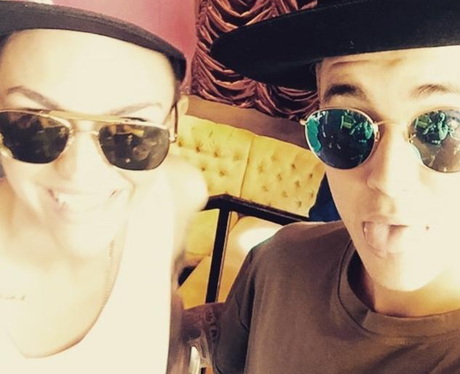 Ruby Rose and Justin Biebe