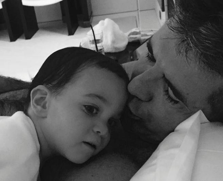 Simon Cowell and Son Eric