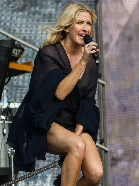 Ellie Goulding supports Taylor Swift on her 1989 W