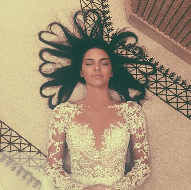 Kendall Jenner Hair Instagram