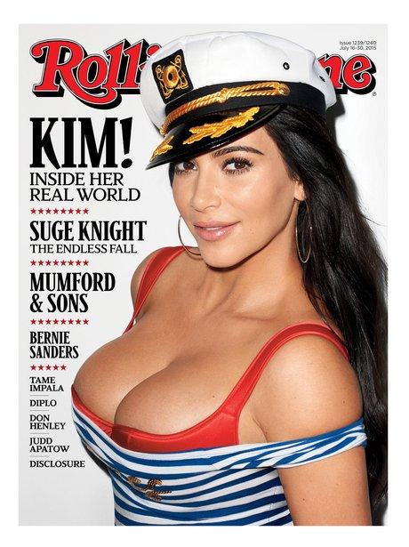 Kim Kardashian Rolling Stone Magazine 2015
