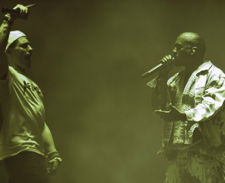 Lee Nelson Kanye West Glastonbury 2015