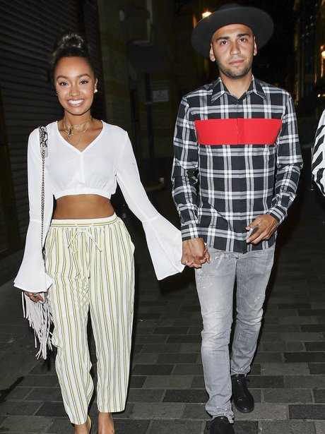 Leigh-Anne Pinnock goes on a dinner date with her
