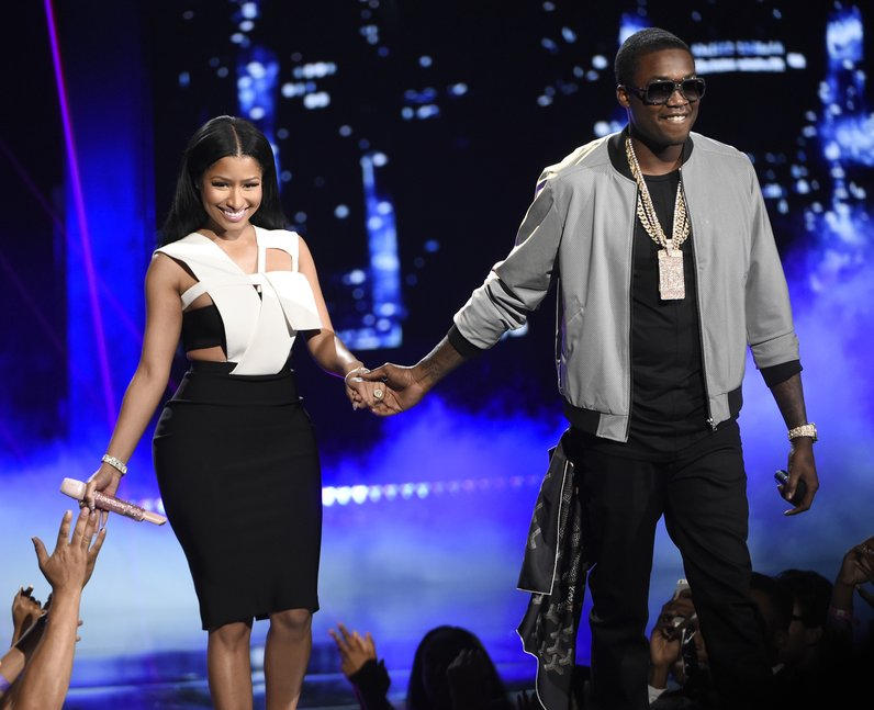 Nicki Minaj and MeeK Mill BET Awards 2015