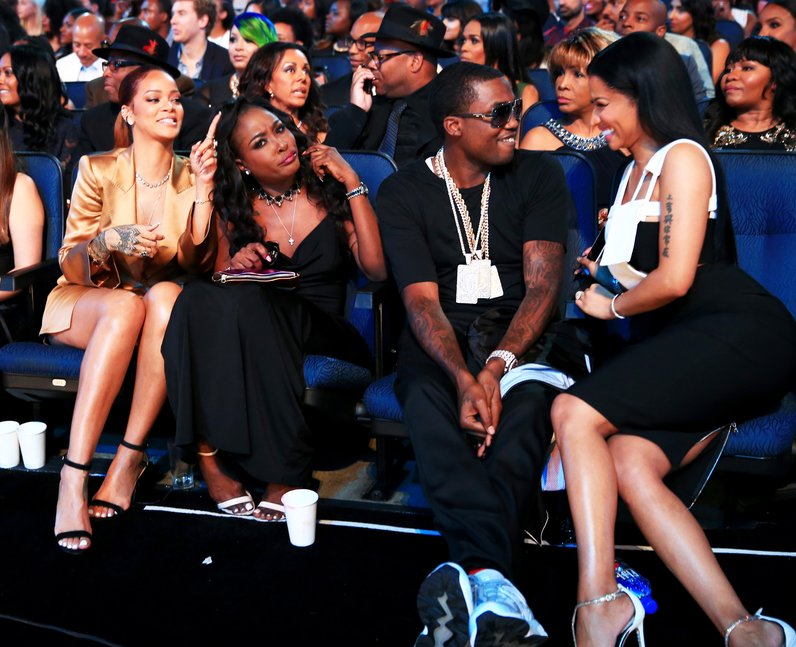 Rihanna, Nicki Minaj, Meek Mill BET Awards 2015