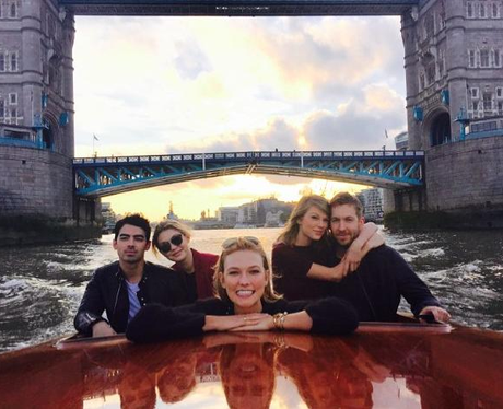 Taylor Swift, Calvin Harris, Gigi Hadid, Joe Jonas