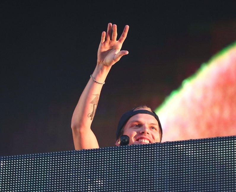 Avicii at New Look Wireless Festival 2015