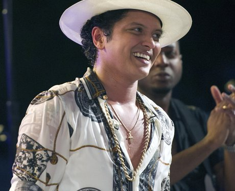 Bruno Mars performs at Independence Day concert in
