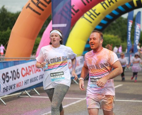 Capital at the Manchester Color Run 2015