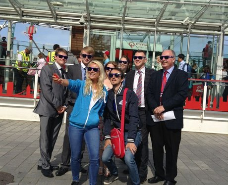 Capital Breakfast Live from Coca-Cola London Eye