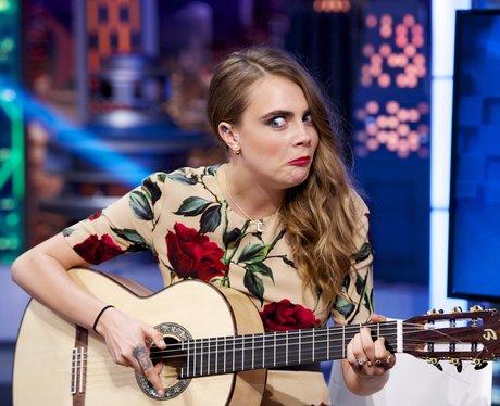 Cara Delevingne attends 'El Hormiguero' Tv