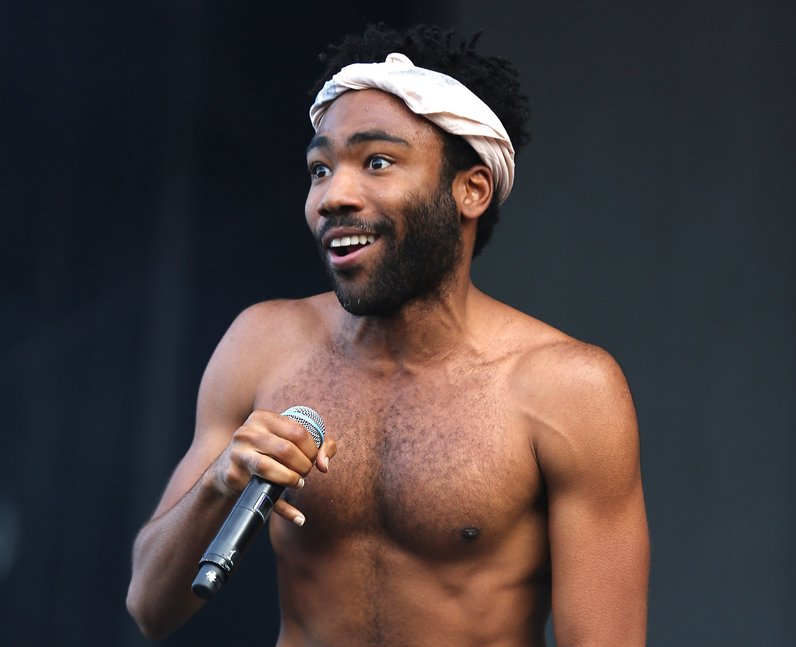 Childish Gambino at New Look Wireless Festival 201