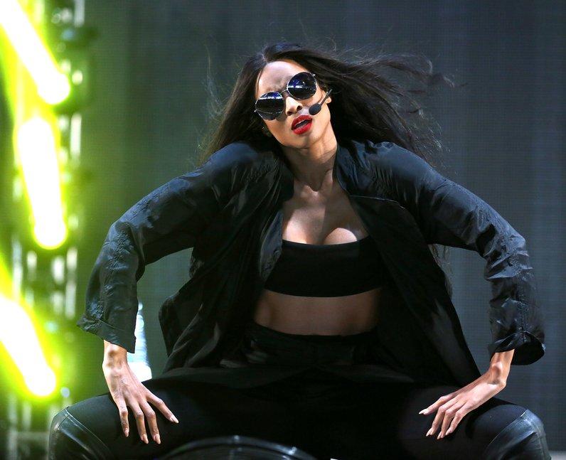 Ciara at New Look Wireless Festival 2015
