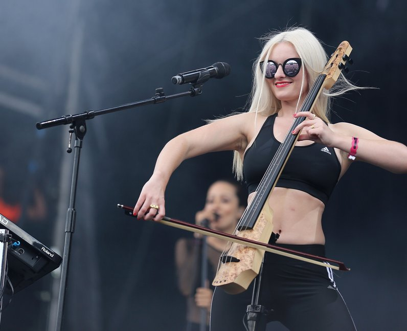 Clean Bandit at New Look Wireless Festival 2015