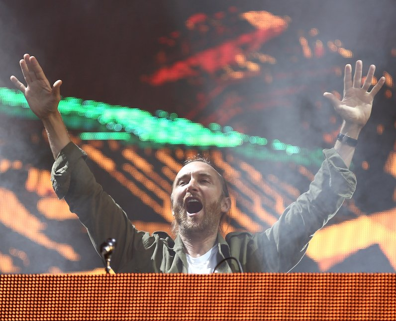 David Guetta at New Look Wireless Festival 2015