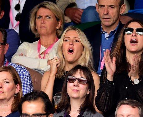 Ellie Goulding at Wimbledon