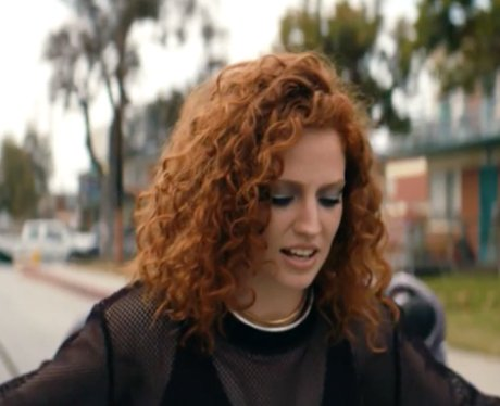 Jess Glynne in a still from her new video.