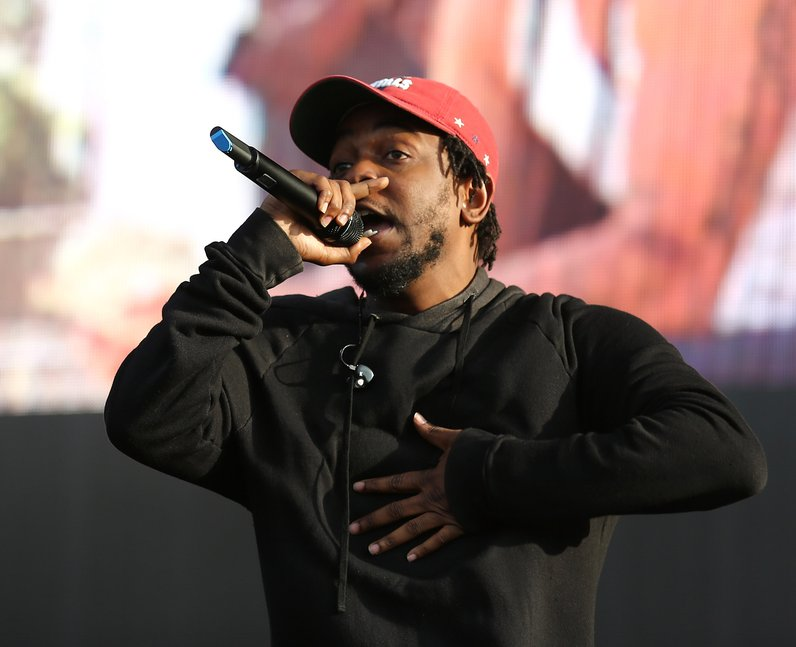 Kendrick Lamar at New Look Wireless Festival 2015