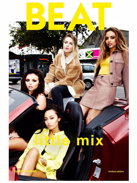 Little Mix BEAT Magazine Cover