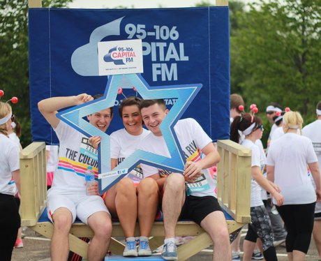 Manchester Color Run Warmup 2015