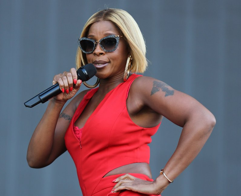 Mary J Blige at New Look Wireless Festival 2015