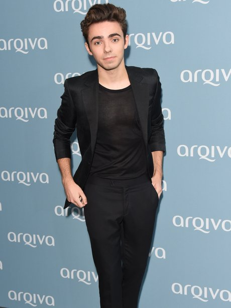 Nathan Sykes attends the Arqiva Commercial Radio A