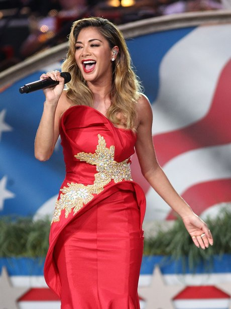 Nicole Scherzinger performs at Independence Day co
