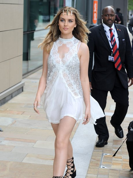 Perrie Edwards out and about in Manchester