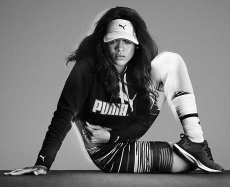 Rihanna for Puma Instagram