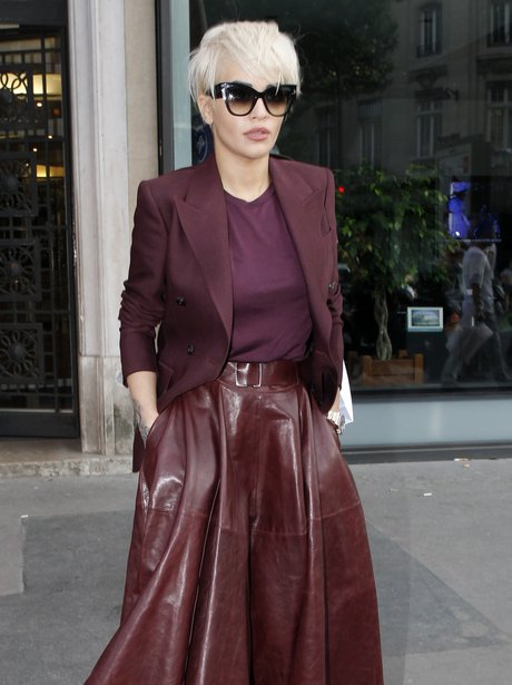 Rita Ora in Paris with Chanel
