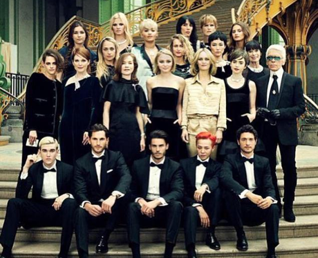 Rita Ora Posts Chanel Group Image on Instagram