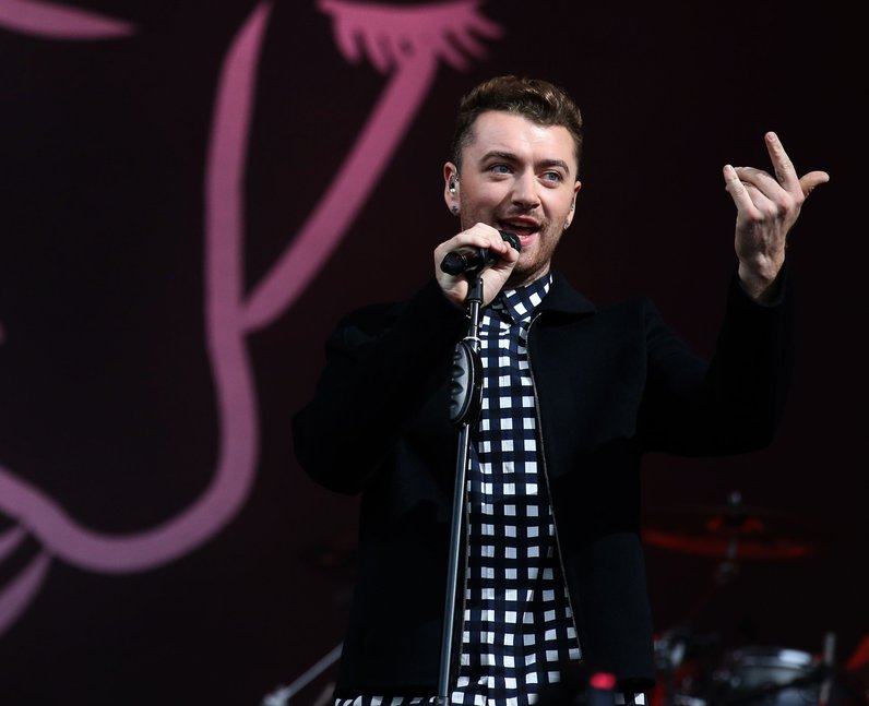 Sam Smith at T in the Park 2015