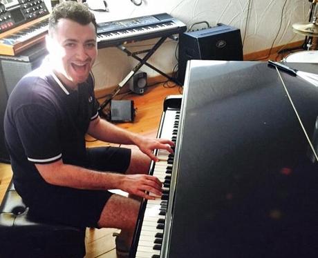 Sam Smith Piano Instagram
