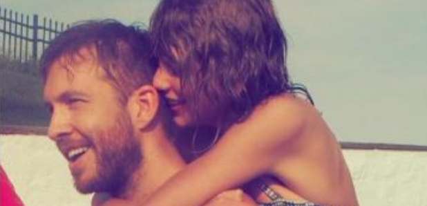 Image result for taylor swift kissing calvin