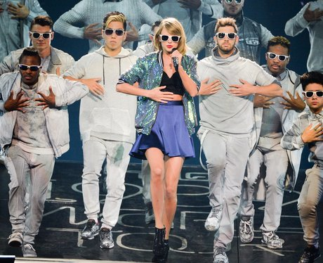 Taylor Swift performs for The 1989 World Tour
