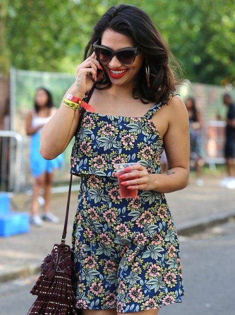 The Saturdays star Vanessa White at New Look Wirel
