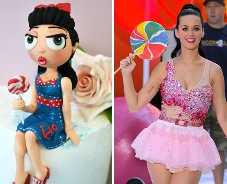 Katy Perry birthday cake