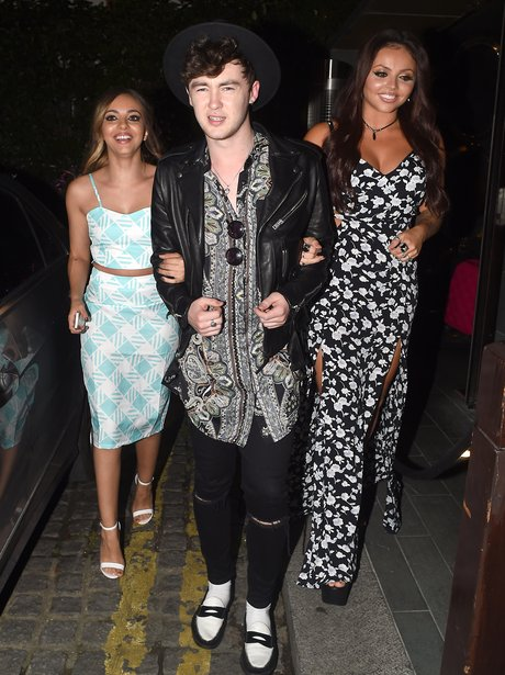 Jesy Nelson, Jake Roche And Leigh-anne Pinnock