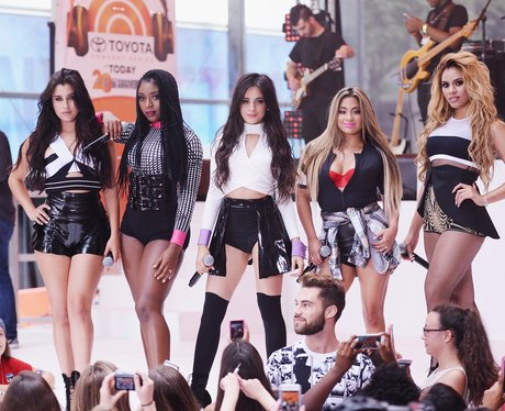 Fifth Harmony perform on NBC's 'Today' show in New