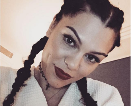 Jessie J Braids Selfie