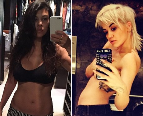 Kardashian Selfie Comparisons