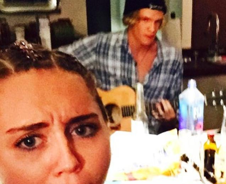 Miley Cyrus and Cody Simpson